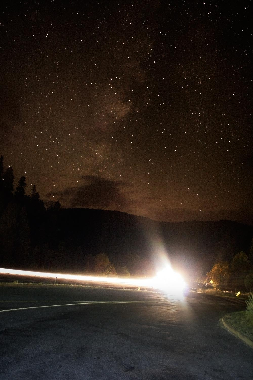 car photography night